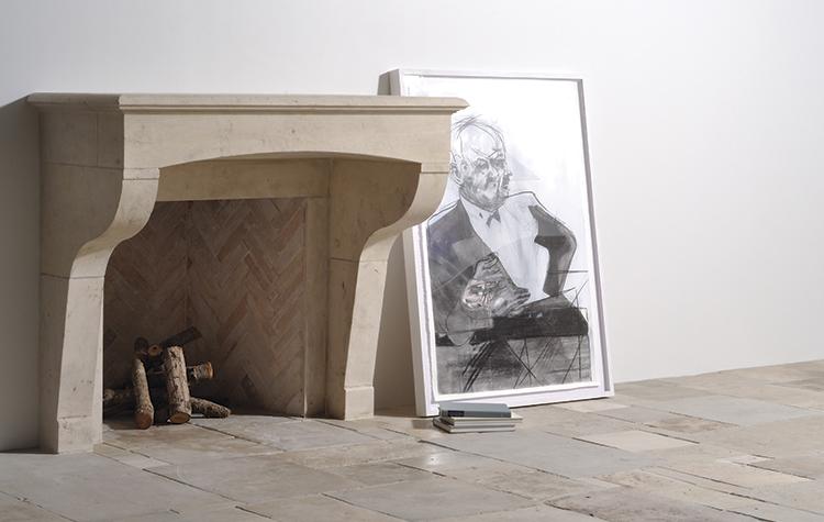 Alkusari Stone: Fireplace r228