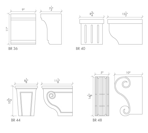 Alkusari Stone: KITCHEN HOOD BRACKETS